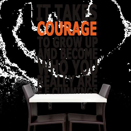 It takes...