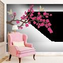 Abstraktna češnjeva veja