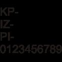 Registracijska označba 1