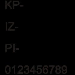Registracijska označba 3